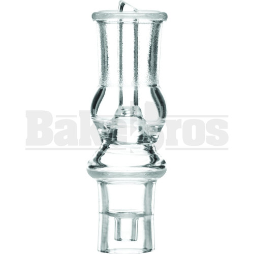 14MM NAIL QUARTZ DOMELESS D-NAIL DIRECT INJECT 14MM COIL ADAPTER CLEAR FEMALE