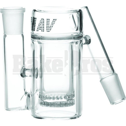 MAVERICK ASHCATCHER CYLINDER HONEYCOMB PERC L CONFIG CLEAR MALE 18MM