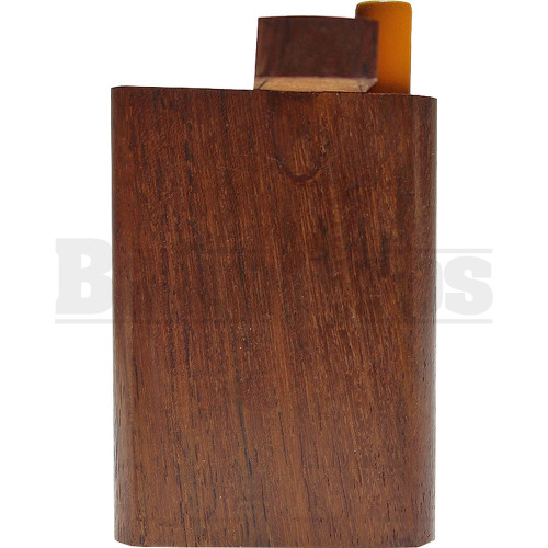 "DUGOUT SWIVEL TOP LACQUERED WOOD 3"" ASSORTED COLORS"
