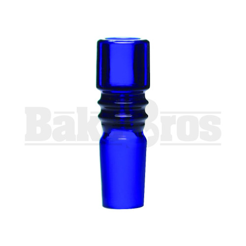 BOWL ART DECO COLUMN BLUE 18MM