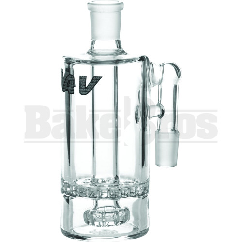 MAVERICK ASHCATCHER HONEYCOMB SHOWERHEAD PERC 90* JOINT CLEAR MALE 14MM