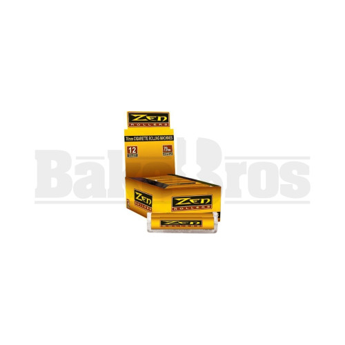 YELLOW Pack of 12 79MM