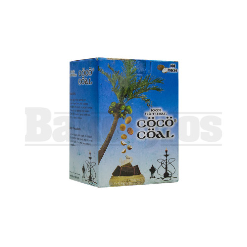 COCO COAL 100% COCONUT SHELL CHARCOAL NATURAL Pack of 108