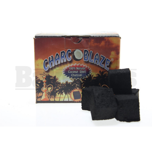 CHARCOBLAZE 100% COCONUT SHELL CHARCOAL PREMIUM QUALITY NATURAL Pack of 36