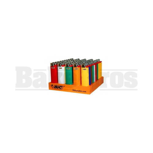 """BIC LIGHTER 2"""" MINI SIZE ASSORTED COLORS Pack of 1"""