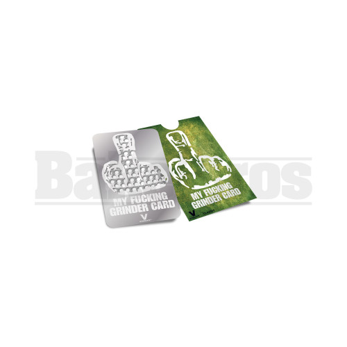 MY FUCKING GRINDER CARD Pack of 1