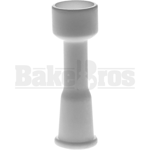 10MM THREADED CERAMIC NAIL WHITE FEMALE