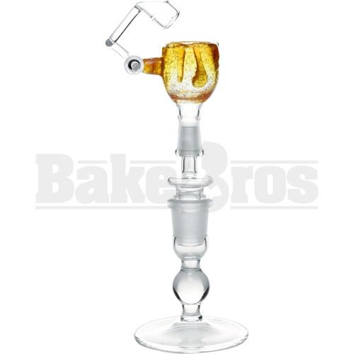 KROWN KUSH FEMALE HONEYBUCKET DRIP GLASS ORANGE CRUSH 10MM