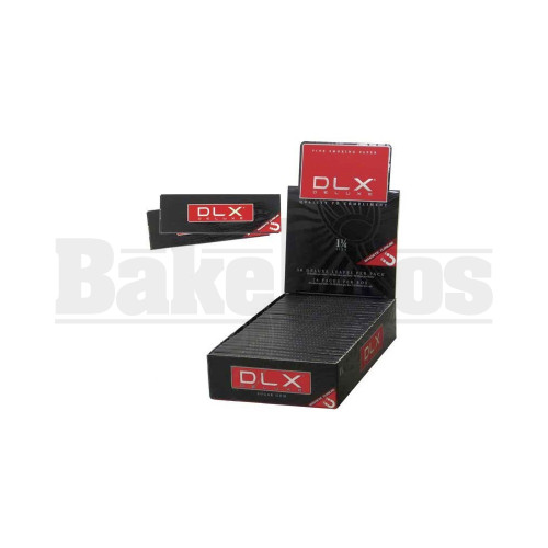 DLX DELUXE ROLLING PAPERS 1 1/4 50 LEAVES UNFLAVORED Pack of 24