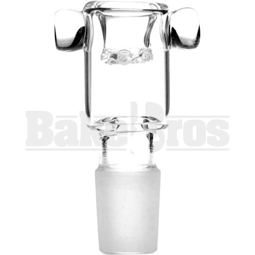 BOWL ASTERIK CYLINDER BOLT HOLDER CLEAR 18MM