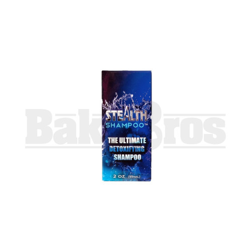 TOTAL STEALTH DETOX HAIR SHAMPOO INSTANT ACTING UNFLAVORED 2 FL OZ