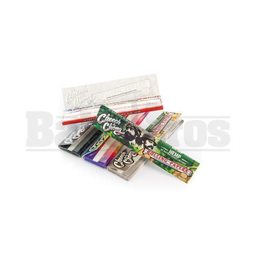 CHEECH & CHONG ROLLING PAPERS UNBLEACHED ULTRA THIN KINGSIZE UNFLAVORED Pack of 1