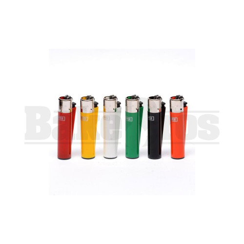 """CLIPPER LIGHTER 3"""" SOLID COLOR ASSORTED COLORS Pack of 1"""
