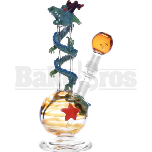"""EMPIRE WP DRAGON WRAP AROUND BALL COIL COLLECTION 7"""" CLEAR MALE 10MM"""
