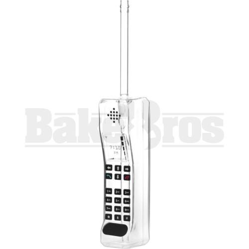"BUBBLER CLASSIC VINTAGE BRICK MOBILE CELLPHONE 13"" CLEAR FEMALE 14MM"
