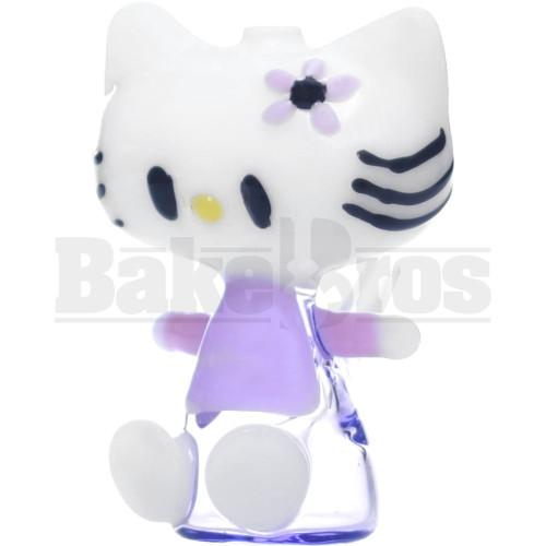 "BLUE LABEL WP RIG KITTY CAT KITTEN CARTOON SITTING W/ BOW 4"" PINK MALE 10MM"
