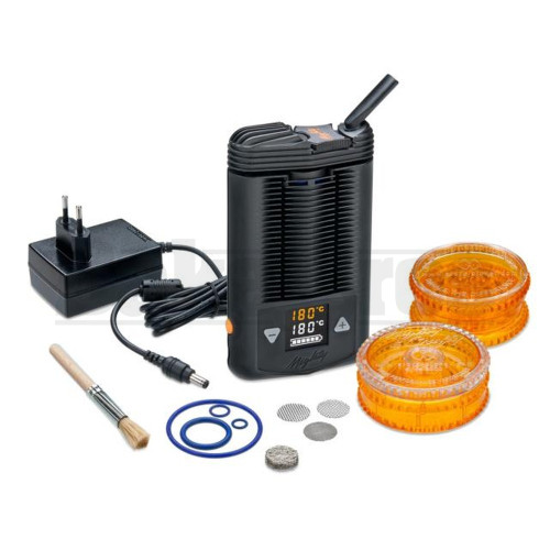 "CRAFTY BY STORZ & BICKEL PORTABLE VAPORIZER DRY HERB 4"" BLACK"