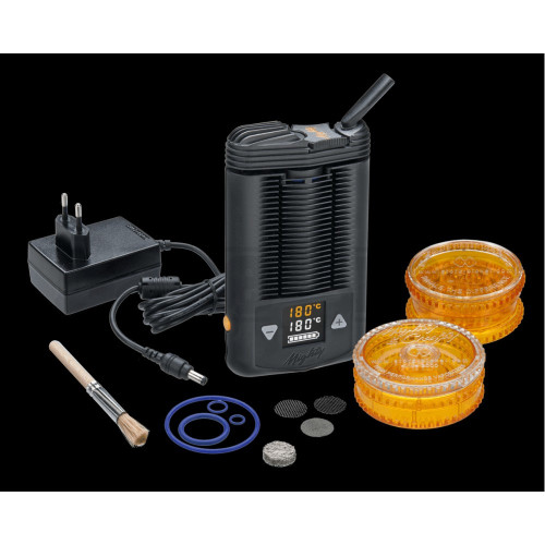 MIGHTY VAPORIZER BY STORZ & BICKEL DRY HERB BLACK