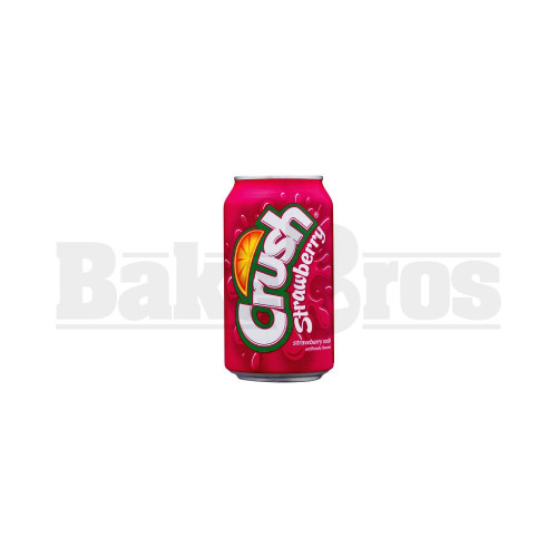 CRUSH STASH CAN DIVERSION SECRET COMPARTMENT STRAWBERRY 12 FL OZ