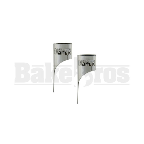 CHROME SILVER Pack of 2