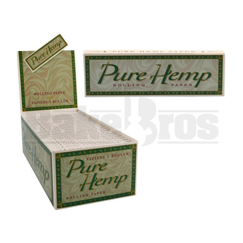 PURE HEMP ROLLING PAPERS SW 50 LEAVES UNFLAVORED Pack of 1