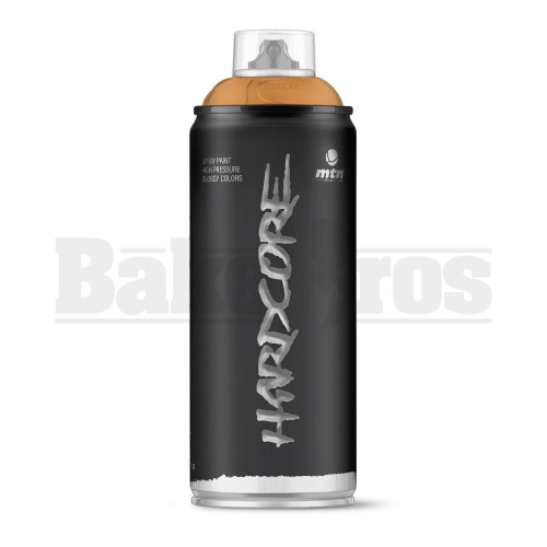 MONTANA COLORS HARDCORE SPRAY CAN PAINT 400ML BAOBAB BROWN Pack of 1