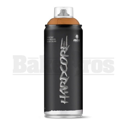 MONTANA COLORS HARDCORE SPRAY CAN PAINT 400ML GREYHOUND BROWN Pack of 1