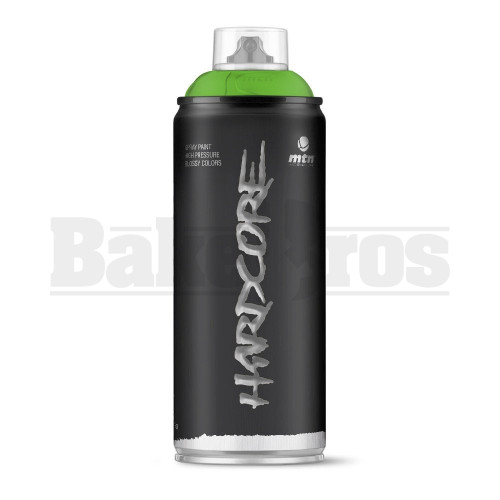 MONTANA COLORS HARDCORE SPRAY CAN PAINT 400ML GUACAMOLE GREEN Pack of 1
