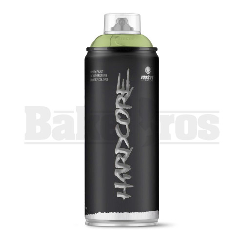 MONTANA COLORS HARDCORE SPRAY CAN PAINT 400ML ELEMENT GREEN Pack of 1