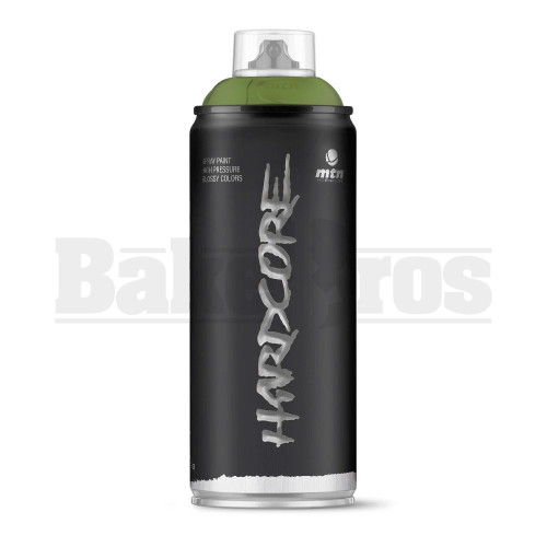 MONTANA COLORS HARDCORE SPRAY CAN PAINT 400ML KHAKI GREEN Pack of 1