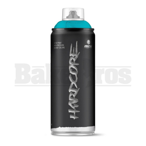 MONTANA COLORS HARDCORE SPRAY CAN PAINT 400ML COUSTEAU BLUE Pack of 1