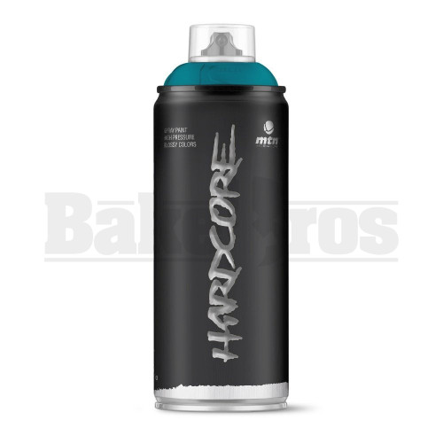 MONTANA COLORS HARDCORE SPRAY CAN PAINT 400ML CHRISTIANIA BLUE Pack of 1