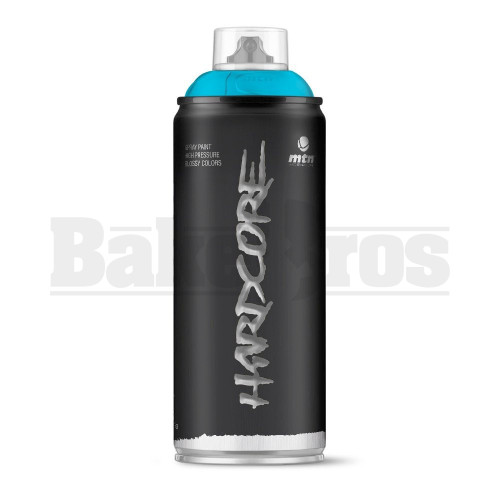 MONTANA COLORS HARDCORE SPRAY CAN PAINT 400ML ARTIC BLUE Pack of 1
