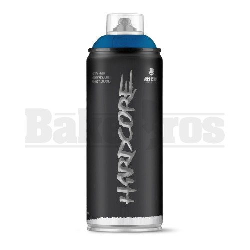 MONTANA COLORS HARDCORE SPRAY CAN PAINT 400ML NEPTUNE BLUE Pack of 1