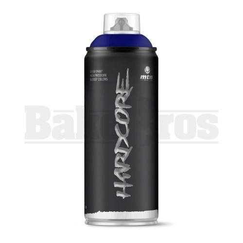 MONTANA COLORS HARDCORE SPRAY CAN PAINT 400ML LEVIATAN BLUE Pack of 1