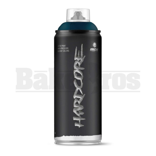 MONTANA COLORS HARDCORE SPRAY CAN PAINT 400ML NOSTROMO BLUE Pack of 1