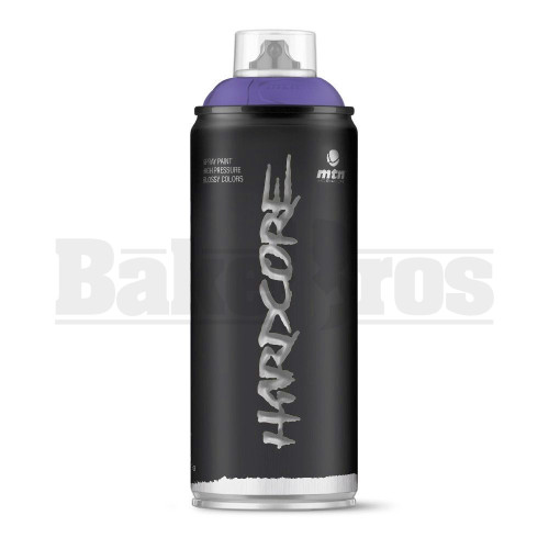 MONTANA COLORS HARDCORE SPRAY CAN PAINT 400ML PROPHET VIOLET Pack of 1