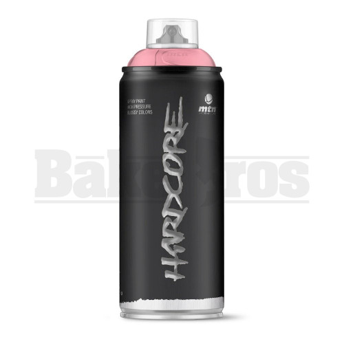 MONTANA COLORS HARDCORE SPRAY CAN PAINT 400ML MANGA PINK Pack of 1