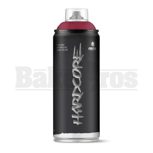 MONTANA COLORS HARDCORE SPRAY CAN PAINT 400ML MERLOT RED Pack of 1