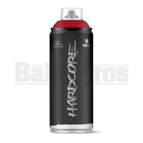 MONTANA COLORS HARDCORE SPRAY CAN PAINT 400ML BOURDEAUX RED Pack of 1