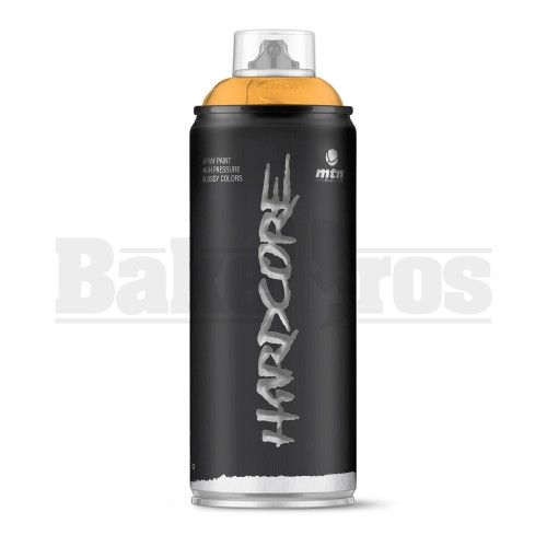 MONTANA COLORS HARDCORE SPRAY CAN PAINT 400ML PEACH Pack of 1