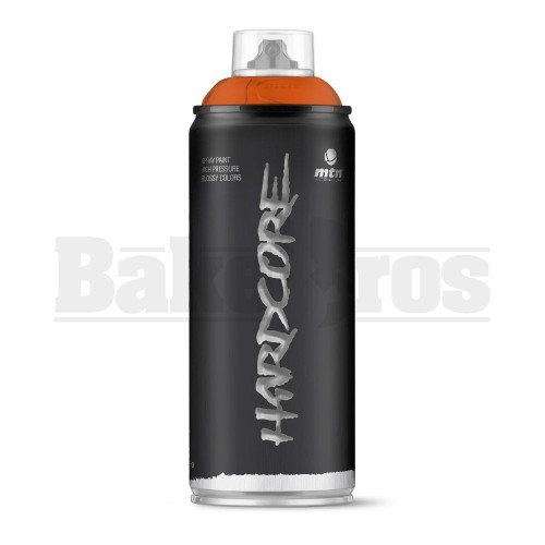 MONTANA COLORS HARDCORE SPRAY CAN PAINT 400ML MUSTARD Pack of 1