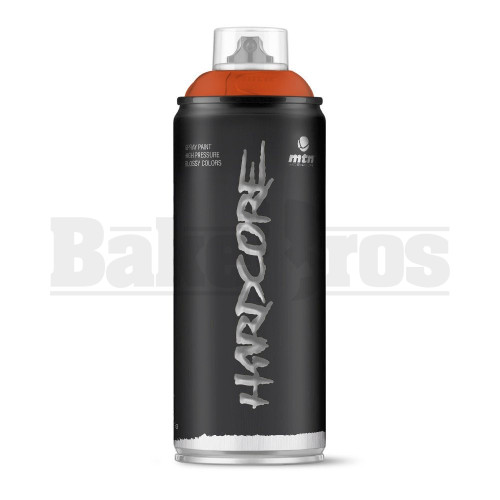 MONTANA COLORS HARDCORE SPRAY CAN PAINT 400ML PANGEA BROWN Pack of 1
