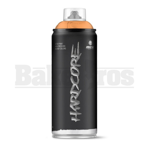 MONTANA COLORS HARDCORE SPRAY CAN PAINT 400ML PUMPKIN Pack of 1