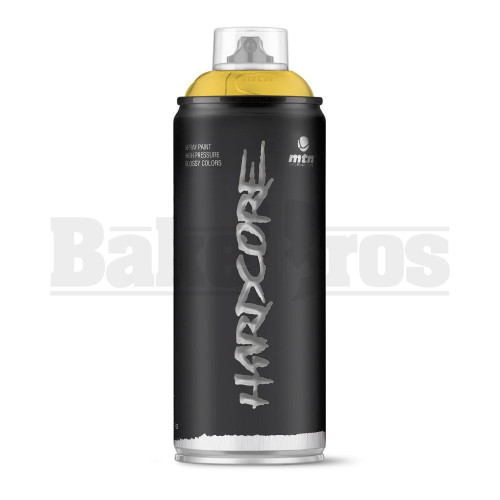 MONTANA COLORS HARDCORE SPRAY CAN PAINT 400ML GOLD Pack of 1