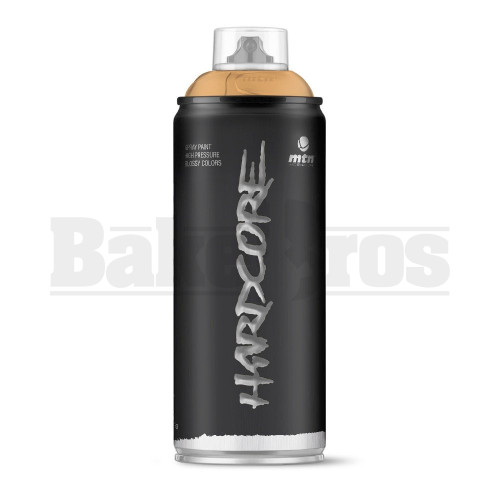 MONTANA COLORS HARDCORE SPRAY CAN PAINT 400ML COPPER Pack of 1