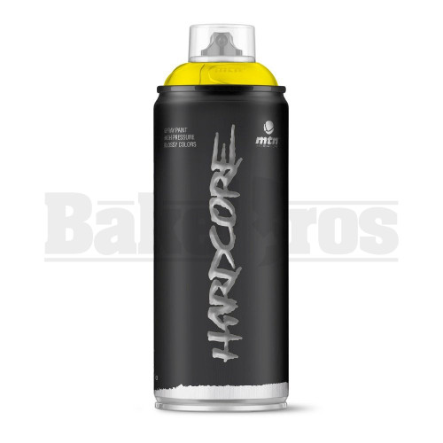 MONTANA COLORS HARDCORE SPRAY CAN PAINT 400ML GIANT YELLOW Pack of 1