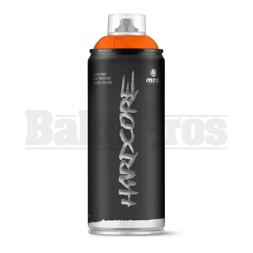 MONTANA COLORS HARDCORE SPRAY CAN PAINT 400ML KENYA ORANGE Pack of 1