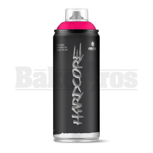 MONTANA COLORS HARDCORE SPRAY CAN PAINT 400ML MIAMI PINK Pack of 1