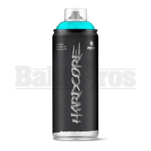 MONTANA COLORS HARDCORE SPRAY CAN PAINT 400ML CYAN Pack of 1